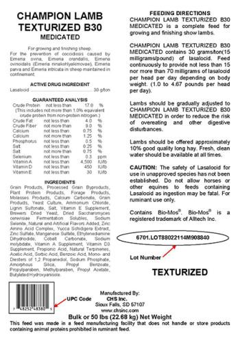 Champion-Lamb-Texturized-Feed