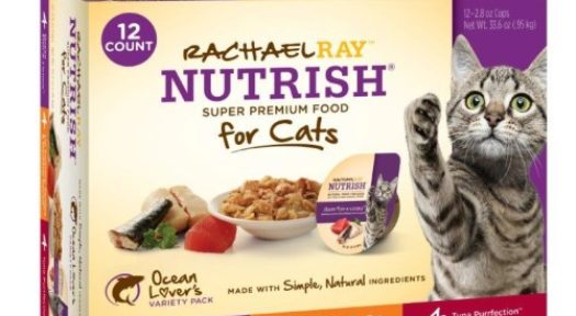 Photos Of Ainsworth Pet Nutrition Recalls Of Five Rachael Ray Nutrish Cat Food Varieties.