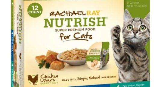 Rachael Ray™ Nutrish® Wet Cat Food Recalled