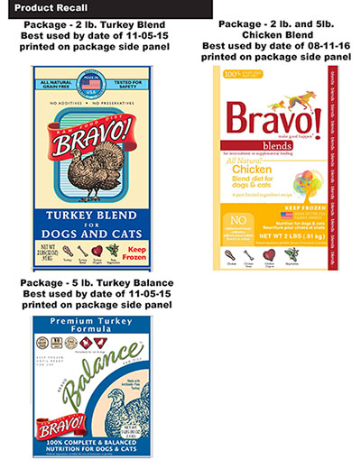 Bravo Dog Food Recall