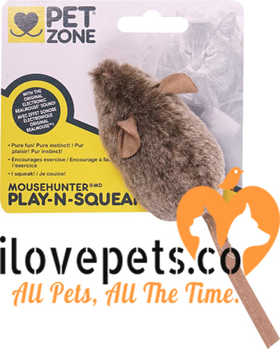 PetZone Play-N-Squeak MouseHunter - A Cat Toy