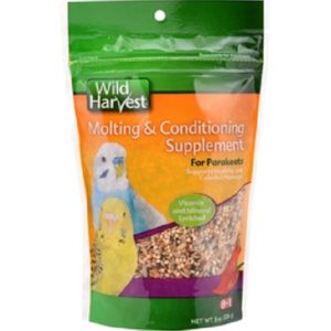 parakeets molting supplement