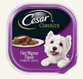 Recall of Ceasar Classics Filet Mignon.