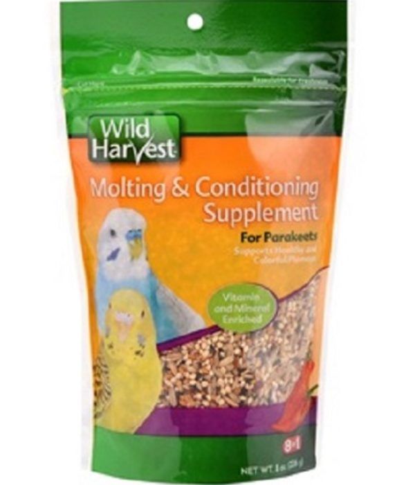 Parakeets Molting And Conditioning Supplement