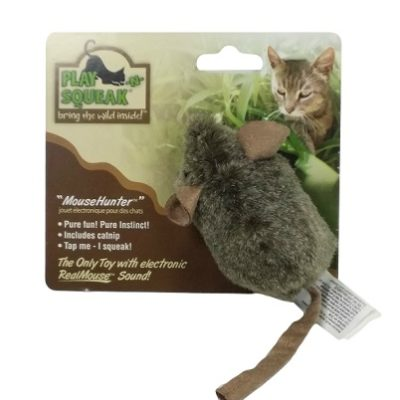Play-N-Squeak MouseHunter – A Cat Toy
