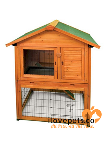 Premium Plus Bunny Barn – Rabbit Hutches.