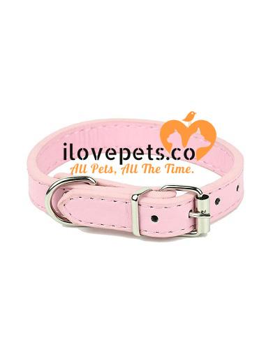 Adjustable High Quality Small Pet Collar I Love Pets