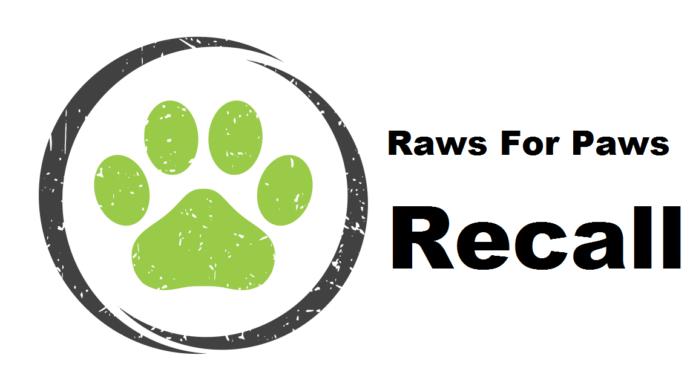 Raws For Paws Recall Turkey Pet Food Due To Salmonella