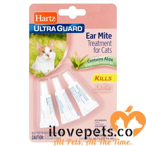 Hartz Ultra Guard Ear Mite Treatment For Cats
