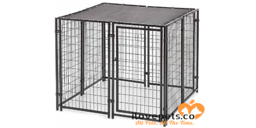 Durable Fencemaster Kennel System Cottageview Dog Kennel at ilovepets.co