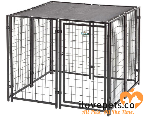 The PetSafe Cottageview Boxed Kennel By FenceMaster