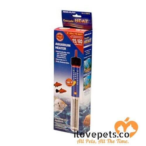 submersible aquarium heater cascade 75 watt