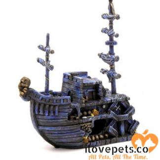 pirate ship aquarium decoration