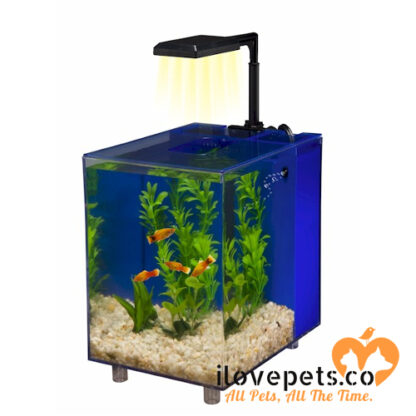 prism nano blue aquarium kit