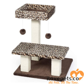 Kitty Power Paws Leopard Terrace By Prevue Pet Products