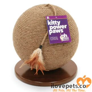 Kitty Power Paws Sphere Scratching Post Prevue Pet Products
