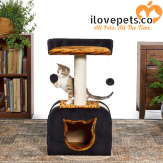 Kitty Power Paws Tiger Hideaway By Prevue Pet Products
