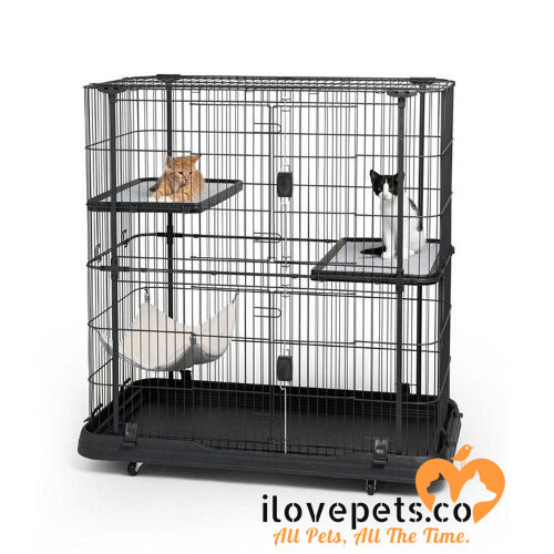 Deluxe Cat Home Cage By Prevue Pet Products