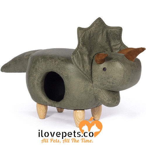 Prevue Pet Products Triceratops Dinosaur Ottoman