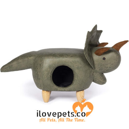 Prevue Pet Products Triceratops Dinosaur Ottoman cat furniture