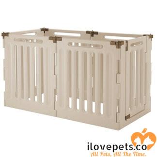 Convertible Indoor Outdoor 6 Panel Playpen